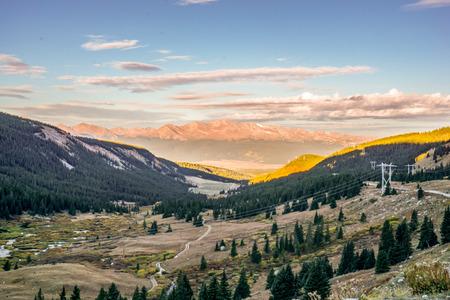 rockies: Mount Sherman Colorado 14er in the Colorado Rockies Stock Photo