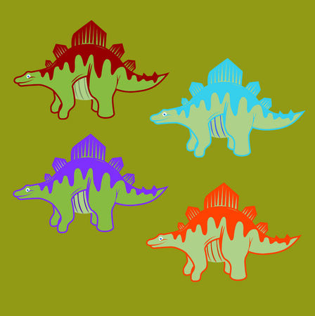 This is Perfect for party theme dinosaur layout. Or for fun kid layouts.