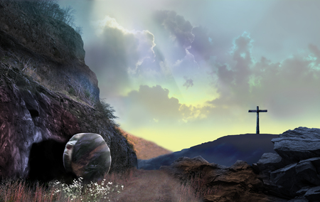 Fasci di luce della risurrezione