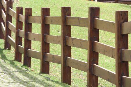 stockade: Fence Stock Photo