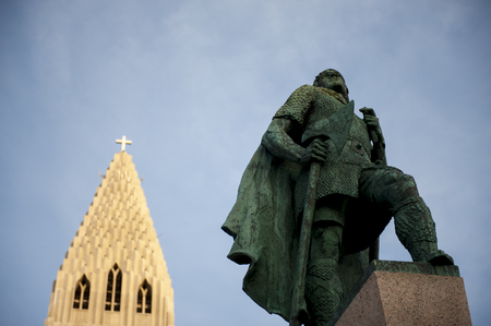 leif: Leifur Eriksson is an Icelanding explorer regarded as the first European to land in North America