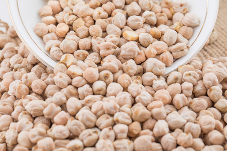 Dried Chick Pea Also Know as Kabuli Chana, Garbanzo, Bengal Gram, Cicer Arietinum, Garbanzo Bean or Chickpea.