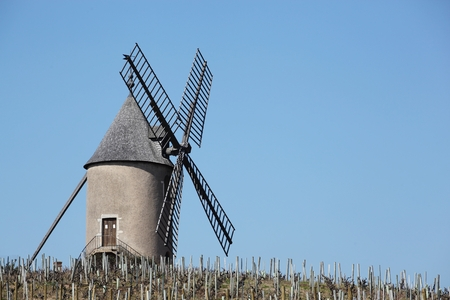 moulin: Moulin a vent in Beaujolais