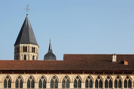 abbeys: Cluny Abbey