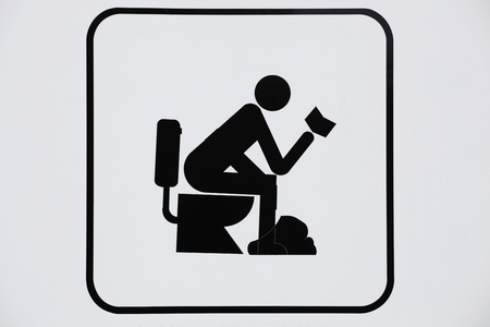 515 Funny Toilet Sign Stock Vector Illustration And Royalty Free ...