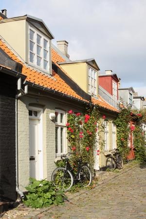 The mill lane in Aarhus, Denmark