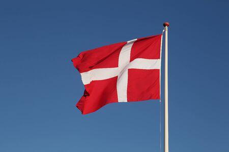 danish flag: Danish flag