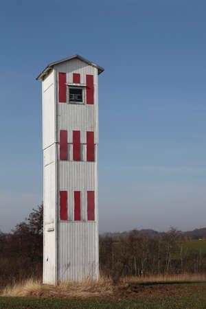 jutland: Haldrup Mark lighthouse, Denmark