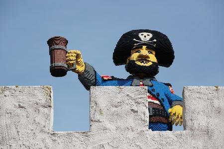 Legoland amusement park in Billund, Denmark