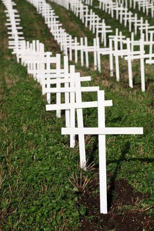 jutland: Protest against abortion in Hedensted near Horsens, Denmark