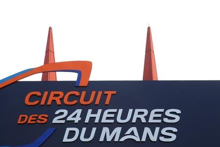 Le Mans track entrance