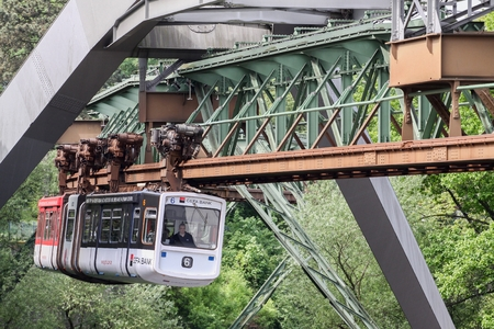 suspension: The Wuppertal Suspension Railway