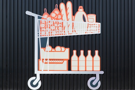 caddy: Shopping trolley