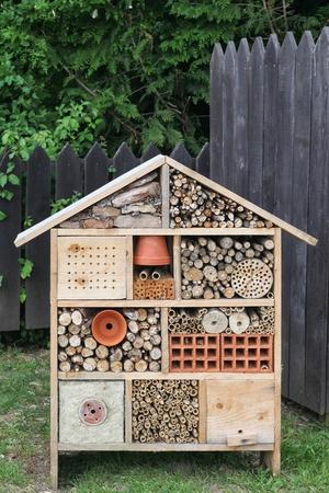 Hôtel à insectes Banque d'images - 41451485