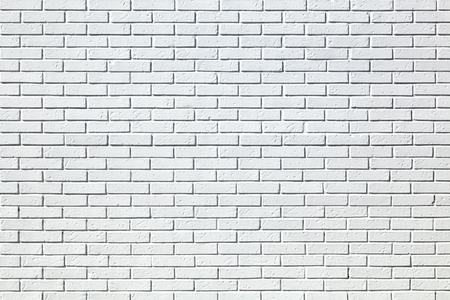 brick texture: Background of white bricks wall texture Stock Photo