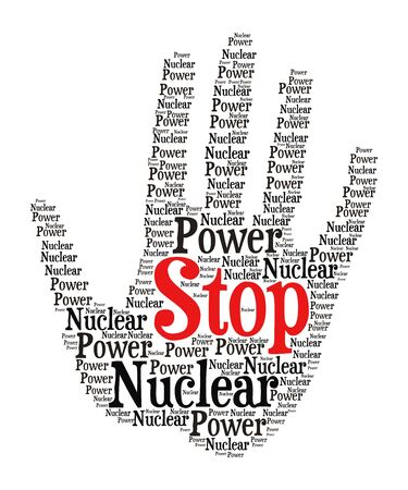 no nuclear: Stop nuclear power