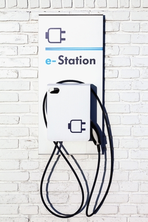 electric vehicle: Electric vehicle charging station