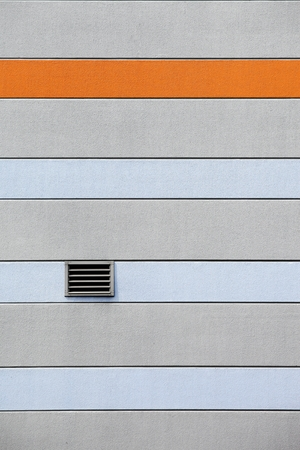 ventilate: Ventilation system and grille vent window on a wall