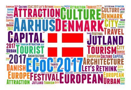 european culture: Aarhus, Denmark, European Capital of Culture 2017 word cloud