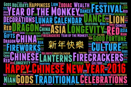 chinese new year dragon: Happy Chinese New year 2016