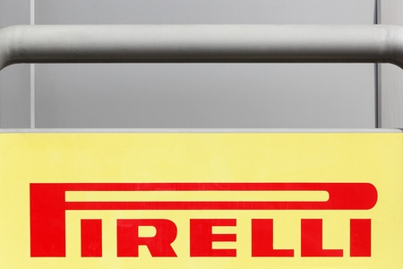pirelli: Macon, France - January 30, 2016: Pirelli is a multinational company based in Milan, Italy. The company is the worlds fifth-largest tyre manufacturer