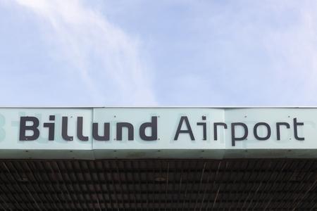 Billund airport in Denmark