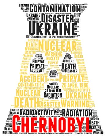 toxic accident: Chernobyl nuclear accident word cloud