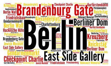 charlie: Berlin city word cloud