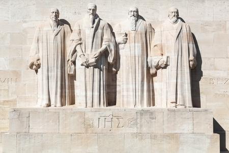 Reformation wall in Geneva, Switzerland
