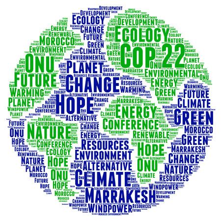 onu: COP 22 in Marrakesh, Morocco Stock Photo
