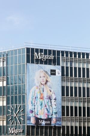 nord: Aarhus, Denmark - September 25, 2016: Magasin du Nord in Aarhus, Denmark. Magasin du Nord is a Danish chain of department stores Editorial