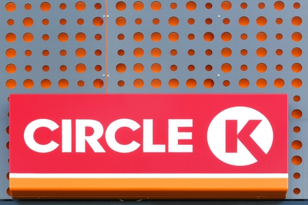 Vejle, Denmark - September 10, 2016: Circle K is an international chain of convenience stores, founded in 1951 in USA. Circle K announced that the Statoil brands will be converted to the Circle K brand