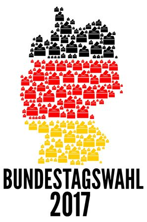 German federal election 2017 with german text