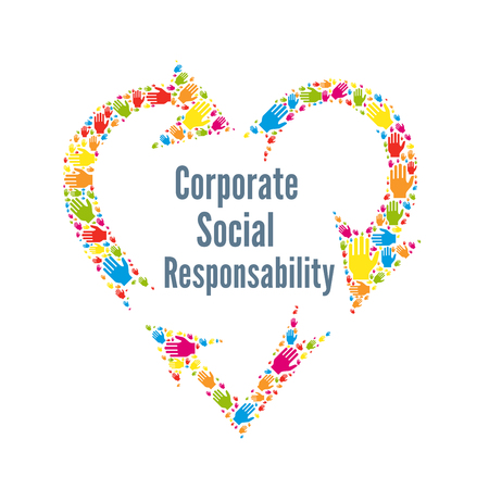 CSR corporate social responsibility sign