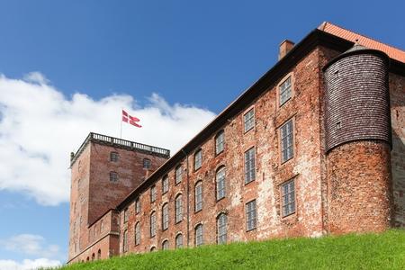 Koldinghus a Danish royal castle in the city of Kolding, Denmark 스톡 콘텐츠