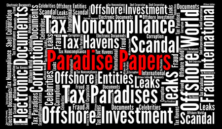 Paradise papers word cloud