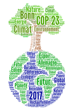 COP 23 in Bonn, Germany in french Stock Photo