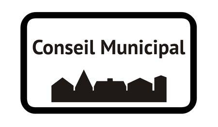 Municipal Council in Französisch Standard-Bild - 91241460