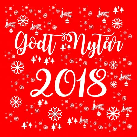 Happy new year 2018 in danish stock photo picture and royalty free stock photo happy new year 2018 in danish m4hsunfo
