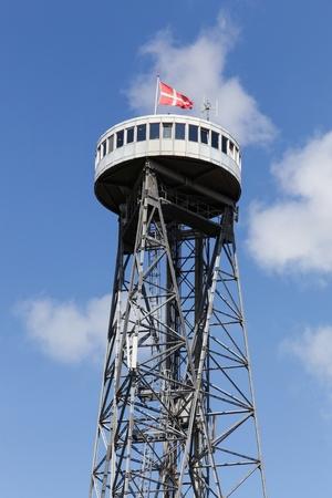 Aalborg tower in Denmark Stock Photo