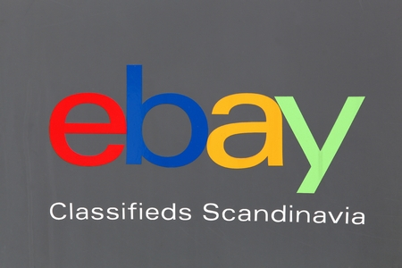 Aarhus, Denmark - August 19, 2017: Ebay Scandinavia. EBay is an American multinational corporation and e-commerce company, providing consumer to consumer and business to consumer sales services via the internet Editorial