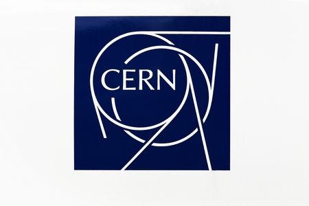 Meyrin, Switzerland - October 1, 2017: The European Organization for Nuclear Research known as CERN is a European research organization that operates the largest particle physics laboratory in the world