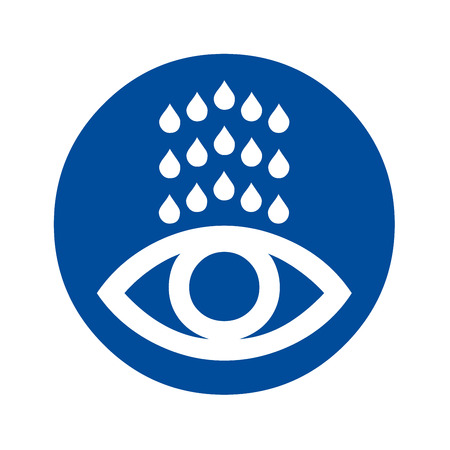 Eye wash station icon