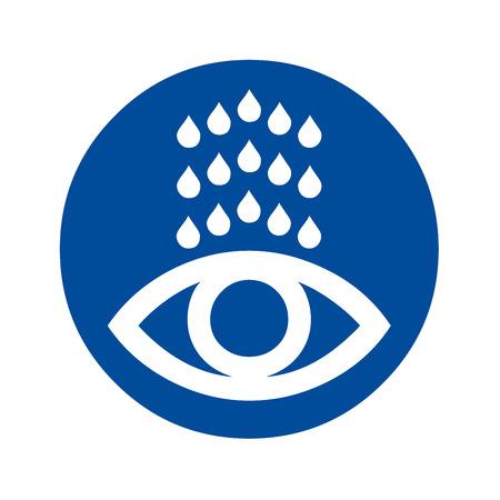 Eye wash station icon Imagens - 117725113