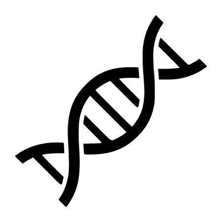 DNA symbol icon illustration