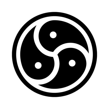 BDSM symbol illustration