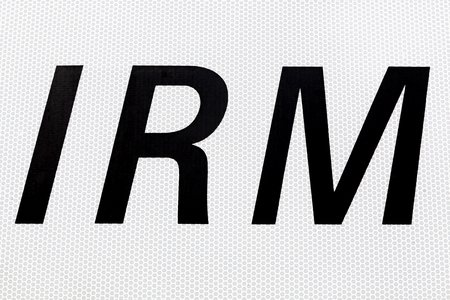 MRI sign called IRM in French language