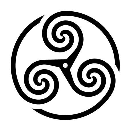Triskelion symbol icon