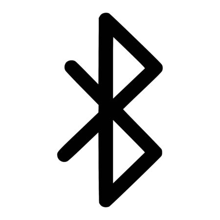 Rune peace viking symbol icon