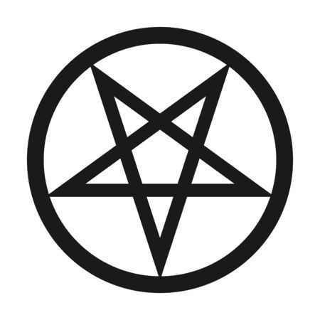 Pentacle symbol icon